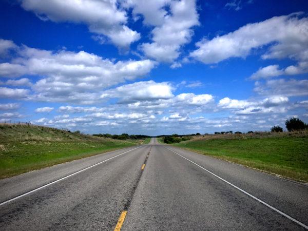 Rural Texas Road