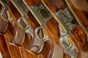 Antique gun stocks